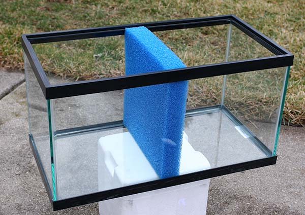 Diy fish tank divider diy projects for Fish tank divider 75 gallon