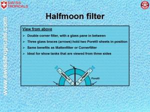 Halfmoonfilter layout