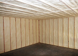 Insulation spray foam