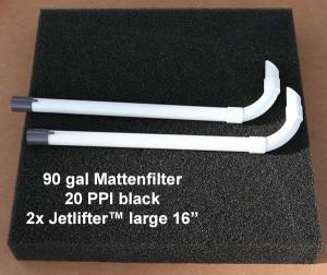 Mattenfilter 90 gal kit