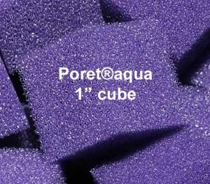 Poret-aqua cube