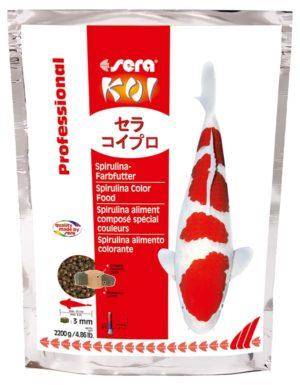 Sera-koi-professional-spirulina-color 2200-g