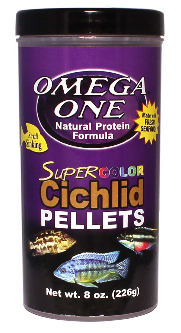 SuperColorCichlidPellets 8oz