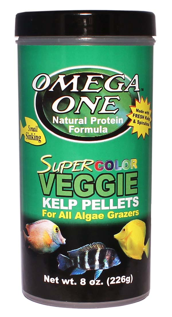 SuperColorVeggieKelpSinkingPellets 8oz
